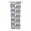 KESS InHouse Spectacles Geek Chic Curtain Panels (Set of 2)