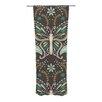 KESS InHouse Butterfly Garden Curtain Panels (Set of 2)
