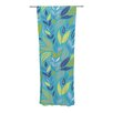 KESS InHouse Underwater Bouquet Curtain Panels (Set of 2)