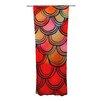 KESS InHouse Dragon Tail Curtain Panels (Set of 2)