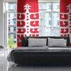KESS InHouse Vernal Season by Miranda Mol Sheer Curtain Panel (Set of 2)
