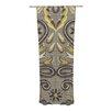 KESS InHouse Vintage Damask Curtain Panels (Set of 2)