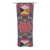 KESS InHouse African Motif Curtain Panels (Set of 2)