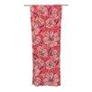 KESS InHouse Flutter Floral Curtain Panels (Set of 2)