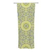 KESS InHouse Multifaceted Flowers Curtain Panels (Set of 2)