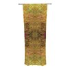 KESS InHouse Goldenrod Curtain Panels (Set of 2)