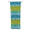 KESS InHouse Ocean Splatter Curtain Panels (Set of 2)