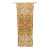 KESS InHouse Goldenrod II Curtain Panels (Set of 2)