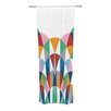 KESS InHouse Modern Day Arches Curtain Panels (Set of 2)