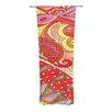 KESS InHouse Swirls Curtain Panels (Set of 2)