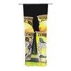 KESS InHouse Lemonade Curtain Panels (Set of 2)