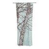 KESS InHouse Winter Trees Curtain Panels (Set of 2)
