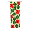 KESS InHouse No More Peonies Curtain Panels (Set of 2)