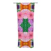 KESS InHouse Kaleidoscopic Curtain Panels (Set of 2)
