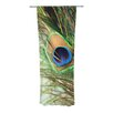 KESS InHouse Peacock Feather Curtain Panels (Set of 2)