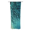 KESS InHouse Winter Moon Curtain Panels (Set of 2)
