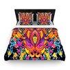 KESS InHouse Paisley Garden by Nikki Strange Woven Duvet Cover