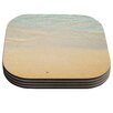 KESS InHouse Ombre Water by Bree Madden Coaster (Set of 4)
