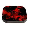 KESS InHouse Vesuvius by Claire Day Coaster (Set of 4)