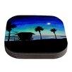 KESS InHouse Carlsbad State Beach by Theresa Giolzetti Coaster (Set of 4)