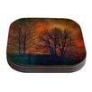 KESS InHouse Silhouettes by Sylvia Cook Coaster (Set of 4)