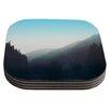 KESS InHouse Wilderness by Leah Flores Mountain Range Coaster (Set of 4)