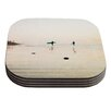 KESS InHouse Surfers by Bree Madden Coaster (Set of 4)