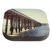 KESS InHouse Ventura Pier by Bree Madden Coaster (Set of 4)