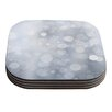 KESS InHouse Glass Coaster (Set of 4)