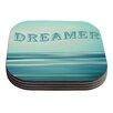 KESS InHouse Dreamer by Ann Barnes Coaster (Set of 4)