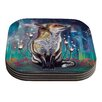 KESS InHouse There Is A Light by Mat Miller Coaster (Set of 4)