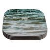 KESS InHouse Turquoise Blue by Debbra Obertanec Coaster (Set of 4)