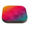 KESS InHouse Colorful Constellation by Fotios Pavlopoulos Coaster (Set of 4)