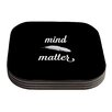 KESS InHouse Mind Over Matter by Skye Zambrana Coaster (Set of 4)