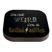 KESS InHouse Weird by Skye Zambrana Coaster (Set of 4)
