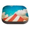 KESS InHouse The Big Top by Ann Barnes Coaster (Set of 4)