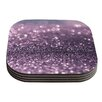 KESS InHouse Sparkle by Debbra Obertanec Coaster (Set of 4)