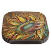 KESS InHouse Sunflower by Brienne Jepkema Coaster (Set of 4)