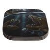 KESS InHouse Sink or Swim by Graham Curran Coaster (Set of 4)