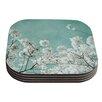 KESS InHouse Flowering Season by Iris Lehnhardt Coaster (Set of 4)
