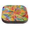 KESS InHouse Star by Danny Ivan Geometric Coaster (Set of 4)
