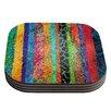 KESS InHouse Stained Glass Batik Mosaic Stripe by Catherine Holcombe Coaster (Set of 4)