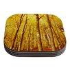 KESS InHouse Forest Colors by Iris Lehnhardt Coaster (Set of 4)