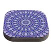 KESS InHouse Kaleidoscope by Iris Lehnhardt Coaster (Set of 4)