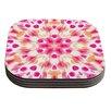 KESS InHouse Batik Mandala by Iris Lehnhardt Coaster (Set of 4)