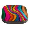 KESS InHouse Lov Color by Danny Ivan Coaster (Set of 4)