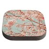 KESS InHouse Blossoms All Over by Iris Lehnhardt Coaster (Set of 4)