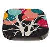 KESS InHouse Lovely Tree by Danny Ivan Coaster (Set of 4)
