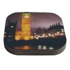 KESS InHouse Westminster at Night by Laura Evans Coaster (Set of 4)