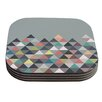 KESS InHouse Nordic Combination by Mareike Boehmer Coaster (Set of 4)